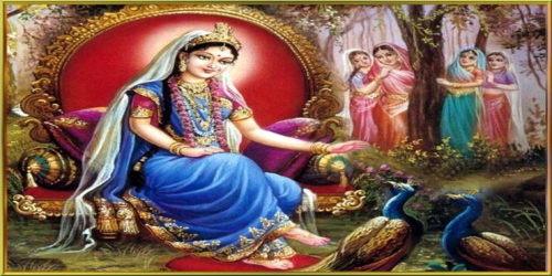 राधा कृष्ण प्रेम पर कविता